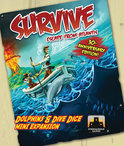 Survive - Dolphins & Dive Dice Mini Expansion - Kaartspel
