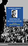 The Cambridge Companion to Dietrich Bonhoeffer (ebook)