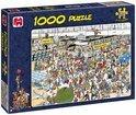 Jan van Haasteren Vertrekhal - Puzzel - 1000 stukjes