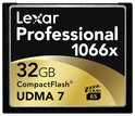 Lexar Professional UDMA7 CompactFlash kaart 32 GB