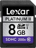 Lexar SDHC Card              8GB 200x Premium Class 10