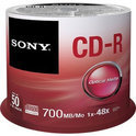 CD-R 48X 700MB SPINDLE 50PCS