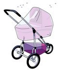 Babsana - Klamboe Voor Kinderwagen - Wit