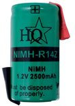 HQ productspecifieke battery packs Batterijpack NiMH 1.2 V 2500 mAh