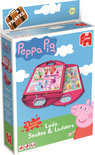 Peppa 2in1 Ludo en Slangen & Ladders - Reiseditie