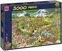 Jan van Haasteren Het Park - Puzzel - 3000 stukjes