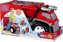 Mega Bloks 3-in-1 Brandweerwagen Ride-On