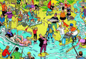 Willems Wereld Vissen - Legpuzzel - 1000 Stukjes
