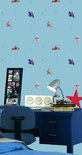 Dutch Wallcoverings Papierbehang - Kinderbehang - Disney - Pooh - Blauw