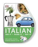 DK Eyewitness Travel Visual Phrasebook and CD: Italian
