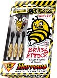 Harrows Buzz Softip 16 Gk - Aluminium - Dartpijlen