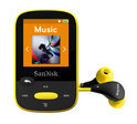 Sandisk Sansa Clip Sports - MP3-speler - 8 GB - Geel
