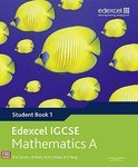 Edexcel International GCSE Mathematics A Student Book 1 with ActiveBook CD