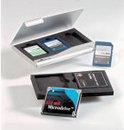 Memory card box