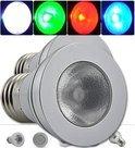 OmYmO Led lamp - 2 x RGB halo style - 20 knops remote 3W