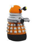 Dr. Who - Oranje Pratende Dalek Knuffel