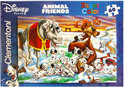 Clementoni Animal friends puzzel 101 dalmati&euml rs 60 stukjes