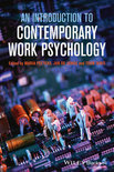 An Introduction to Contemporary Work Psychology