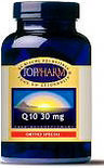 Toppharm Q10 - 30 mg - 150 softgels - Voedingssupplement