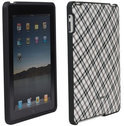 Speck iPad Fitted Tartanplaid - Zwart Wit