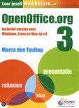 Leer jezelf MAKKELIJK / OpenOffice.org 3 + CD-rom
