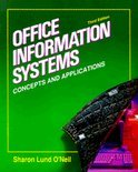 Office Information Systems: Concepts and Applications