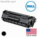 Remanufactured Toner, vervanger voor de Dell (593-10312) Toner Cartridge Zwart 2500 pagina's