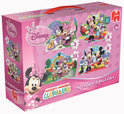 Jumbo 4-in-1 Puzzel - Minnie