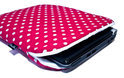 Netbook Hoes 10 inch Pinkish Red (roze, rood)