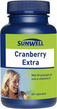 SunWell Cranberry Extra - 60 Capsules - Voedingssupplement