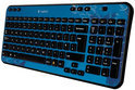 Logitech Wireless Keyboard K360 - Blauw