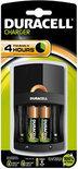 Duracell Simply oplader CEF 14 - 4 uur oplaadtijd -  +2AA  batterijen