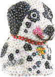 Sequins 3D Hond
