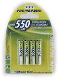 Ansmann Ansmann  Blister 4 X Accu, AAA, 550 mAh