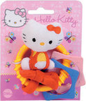 Hello Kitty Rammelaar Plush Ring