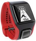TomTom Runner Cardio Zwart/rood - GPS Sporthorloge