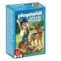 Playmobil Duitse Herder met Puppy's - 5211
