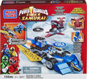 Mega Bloks Power Rangers Super Samurai Blue Ranger vs Xandred