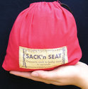 Sack'n Seat - Kinderzitje - Rood