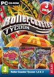 RollerCoaster Tycoon 1, 2 &amp; 3