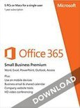 Microsoft Office 365 Small Business Premium 5-PC/MAC 1 jaar directe download versie