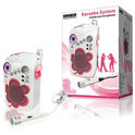 Knig HAV-KCD12 - Karaoke Set met CD Player - Roze