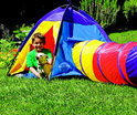 Traditional garden games Adventure play tent: tent en tunnel