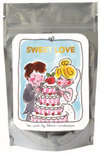 Blond Amsterdam Tea card 'sweet love' (groene thee citroen)