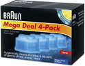 Braun Clean & Renew Refill Cartridge - 4 pack