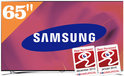 Samsung UE65F8000 - 3D LED TV - 65 inch - Full HD - Internet TV