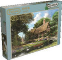 Falcon Around Britain Riverbank Cottage - Puzzel - 1000 stukjes