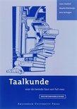 Docentenhandleiding taalkunde