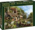 Falcon Riverside Home in Bloom - Puzzel - 1000 stukjes