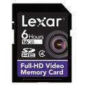 Lexar 16GB SDHC Full-HD